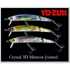 YO-ZURI -  Crystal 3D Minnow DD Jointed 13
