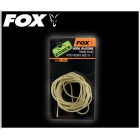 FOX EDGES HOOK SILICONE KHAKI Long 1.5m