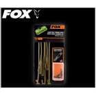 FOX EDGES - LEAD CLIP TUBING RIGS WITH KWIK CHANGE KIT