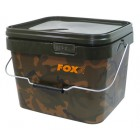 FOX CAMO SQUARE CARP BUCKETS 5 Litres