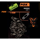 FOX EDGES - SWIVELS SIZE 7