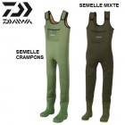 DAIWA - WADERS NEOPRENE  4MM - SEMELLE MIXTE