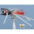 JMC MOUCHE A BLACK BASS  POPPER BASS 22