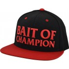 CASQUETTE MAGABASS BAIT OF THE CHAMPION ROUGE/NOIRE