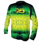 PELAGIC T-SHIRT VAPORTEK LONG SLEEVE DORADO GREEN