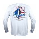 PELAGIC T-SHIRT VAPORTEK LONG SLEEVE PATRIOT SERIES TUNA
