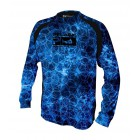 PELAGIC T-SHIRT VAPORTEK LONG SLEEVE BLUE