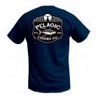 PELAGIC T-SHIRT LOGO TUNA NAVY