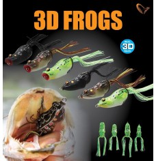 SAVAGE GEAR 3D FROG – WALK ou POP