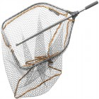 SAVAGE GEAR PRO FOLDING RUBBER LARGE MESH LANDING NET