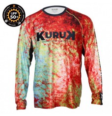 KURUK L-SHIRT EXPEDITION 50 RED SNAPPER