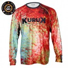 KURUK L-SHIRT EXPEDITION RED SNAPPER