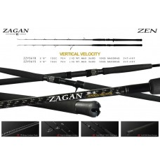 "ZAGAN ZEN EXTREME TUNED VERTICAL VELOCITY 5'8"" SPINNING"