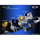 M&W - Océan Star Reel Casting 615 High Power
