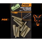FOX EDGES - SAFETY LEAD CLIP TAIL RUBBERS TAILLE 7